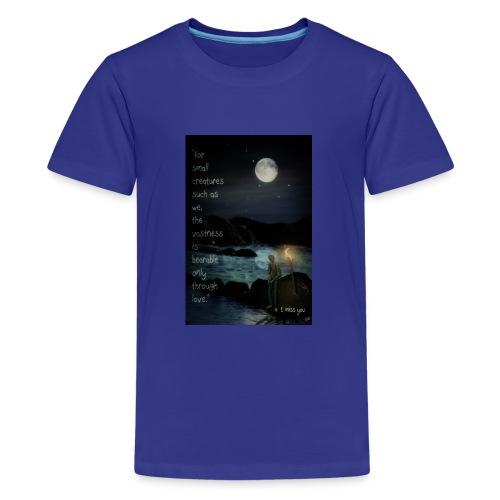 I miss you - Teenage Premium T-Shirt