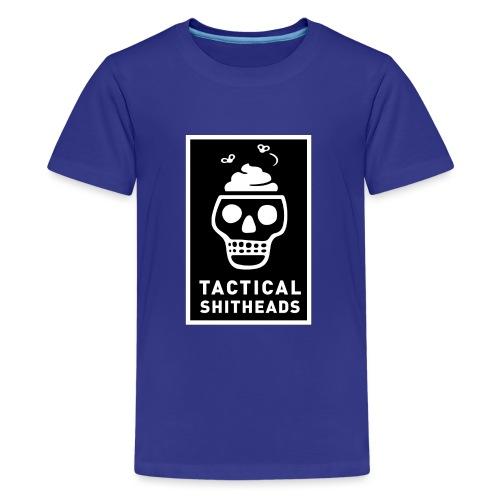 Tacshit Shitheadskull - Teenager Premium T-Shirt