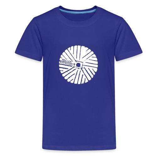 White chest logo sweat - Teenage Premium T-Shirt