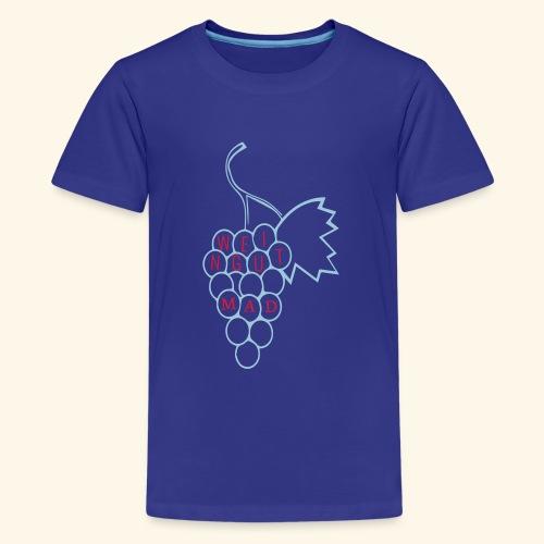Rote Traube - Teenager Premium T-Shirt