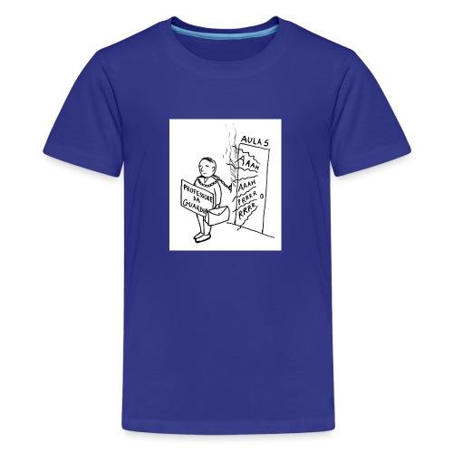 prof da guardia - Maglietta Premium per ragazzi