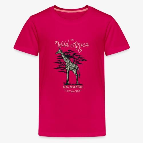Giraffe - Teenager Premium T-Shirt