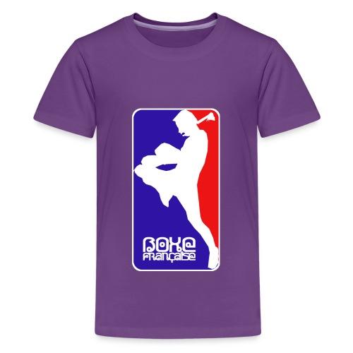 boxe française - Teenage Premium T-Shirt