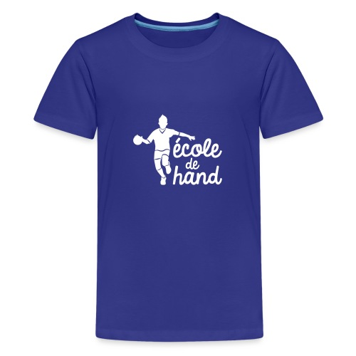ECOLE HAND - T-shirt Premium Ado