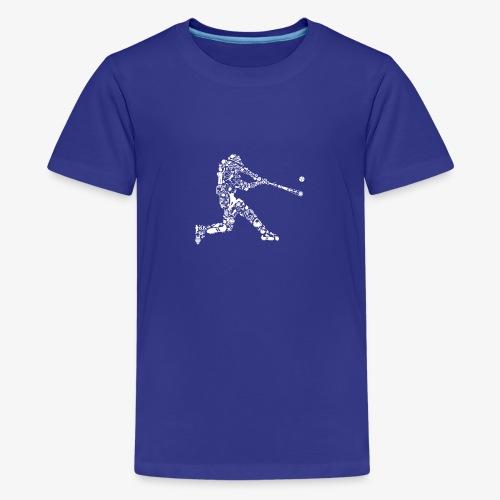 Joueur de baseball - T-shirt Premium Ado
