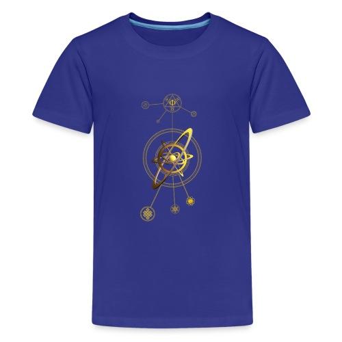 Aurea aNu Universo Spiritualis - Teenage Premium T-Shirt