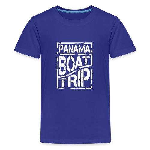 Panama Boat Trip - Teenager Premium T-Shirt