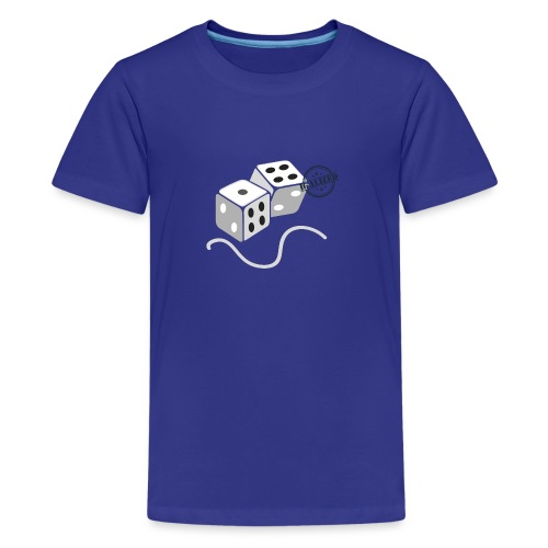 Dice - Symbols of Happiness - Teenage Premium T-Shirt