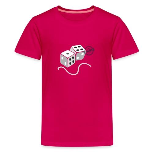 Dice - Symbols of Happiness - Teenage Premium T-Shirt