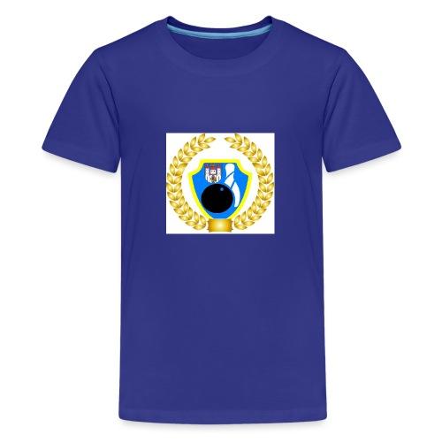 Wappen kranz - Teenager Premium T-Shirt