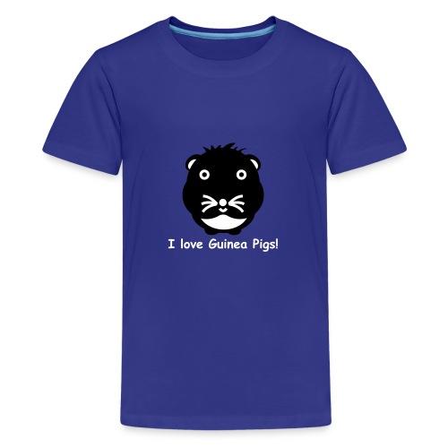 Meerschwein_2f - Teenager Premium T-Shirt