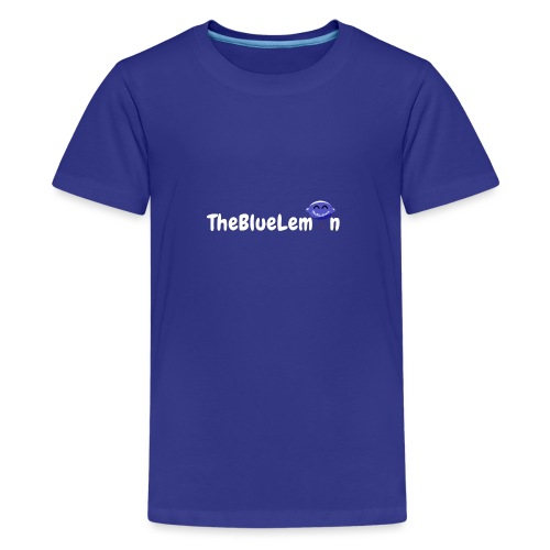 TheBlueLemon writing - Maglietta Premium per ragazzi