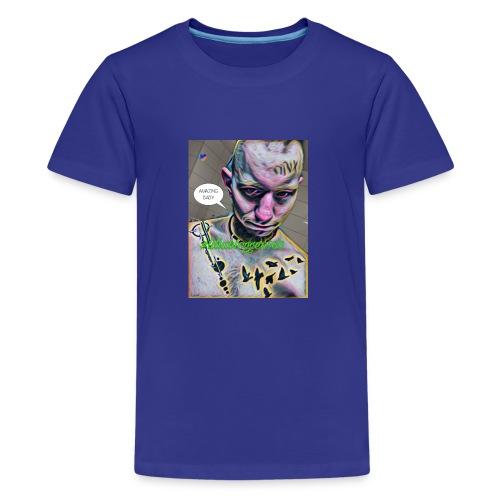 Justin Ahlberg SPREAD LOVE!! - Premium-T-shirt tonåring