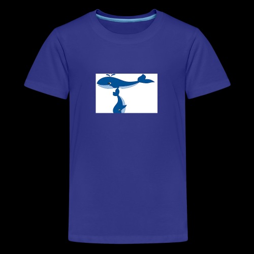 whale t - Teenage Premium T-Shirt