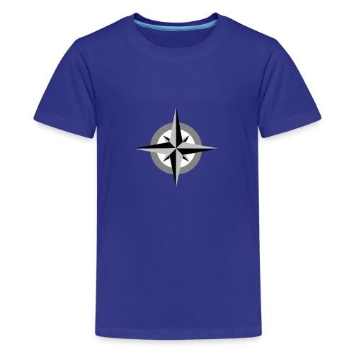 kompass - Teenager Premium T-Shirt