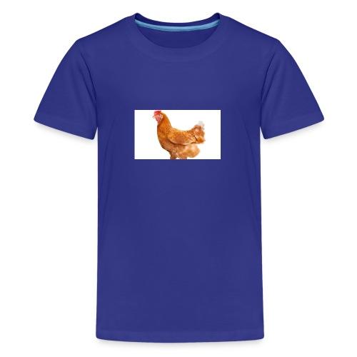 CHICKEN - Premium T-skjorte for tenåringer