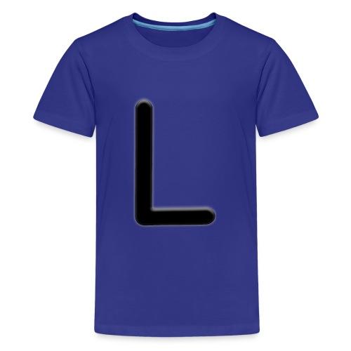L - Teinien premium t-paita