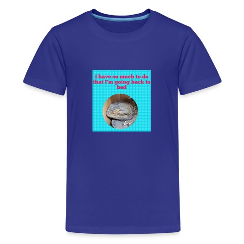 The sleeping dragon - Teenage Premium T-Shirt