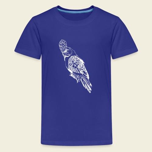 Kakadu weiß - Teenager Premium T-Shirt