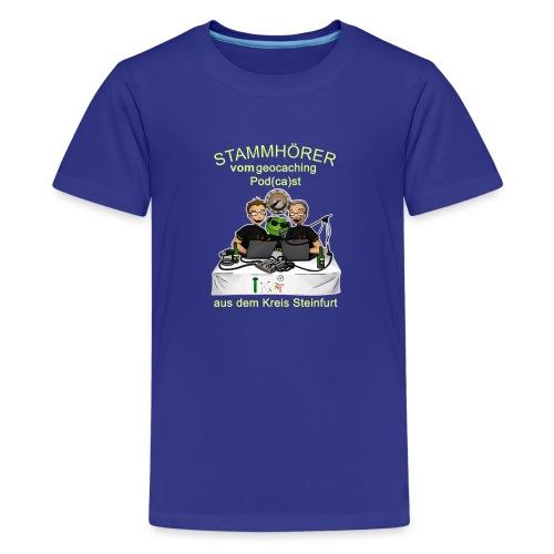 Stammhörer-Shirt - Teenager Premium T-Shirt