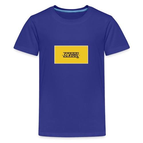 Scrool - T-shirt Premium Ado