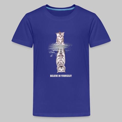 Believe in yourself - Teenager Premium T-Shirt