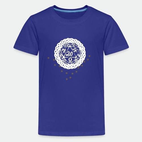 Snowflake Starglitter - Teenage Premium T-Shirt