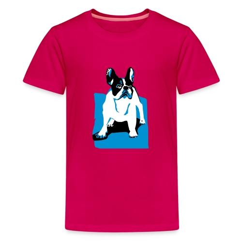 franz bulldog - Teenager Premium T-Shirt