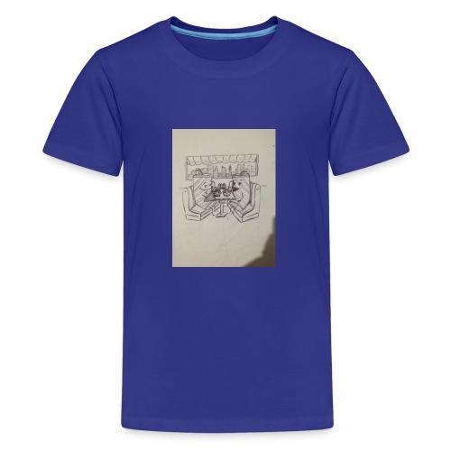 Compartimos juntos - Camiseta premium adolescente