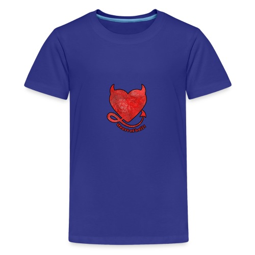 HEART OF HELL! - T-shirt Premium Ado