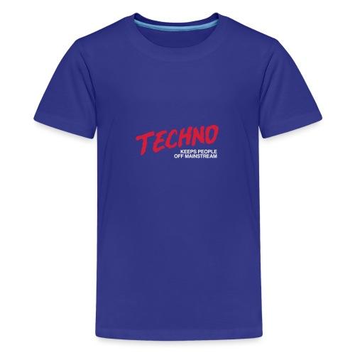 Techno music - Teenage Premium T-Shirt
