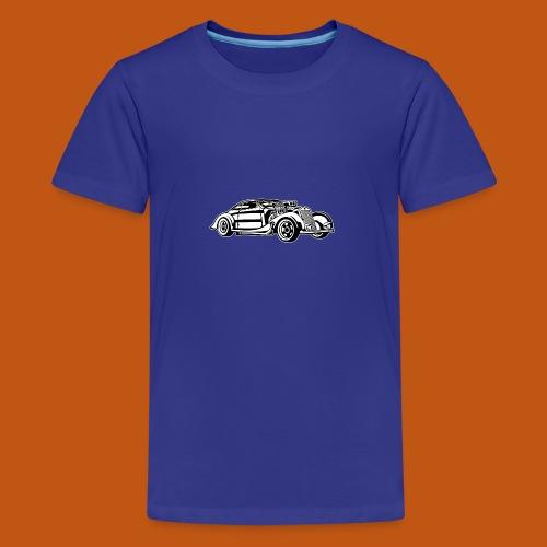 Hot Rod / Rad Rod 05_schwarz weiß - Teenager Premium T-Shirt
