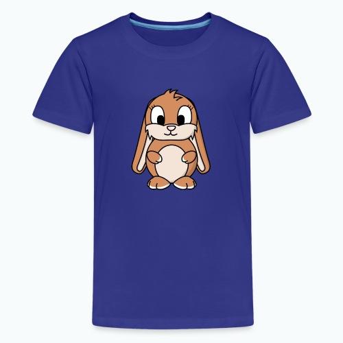 Lily Bunny - Appelsin - Premium-T-shirt tonåring