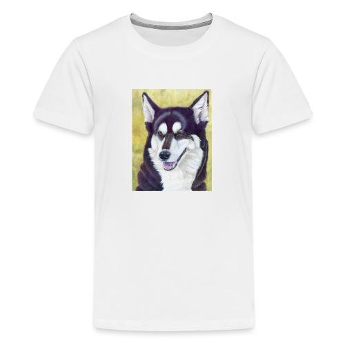 Siberian husky - Teenager premium T-shirt
