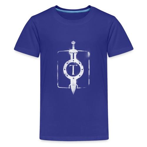 travian_legends_shield_w - Teenage Premium T-Shirt