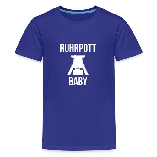 RUHRPOTT BABY - Deine Ruhrpott Stadt - Teenager Premium T-Shirt