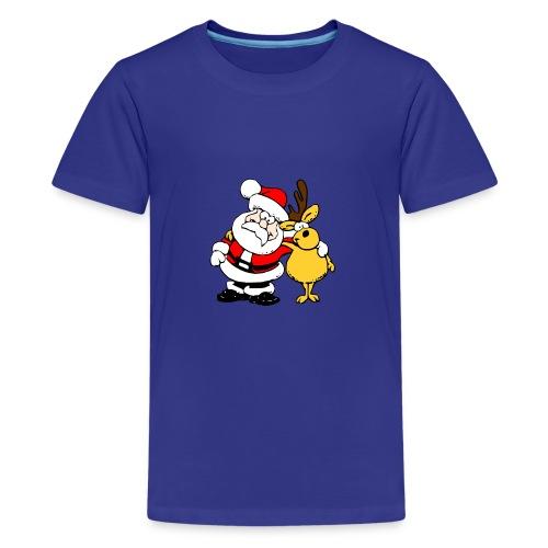 Weihnachtsmann - Teenager Premium T-Shirt