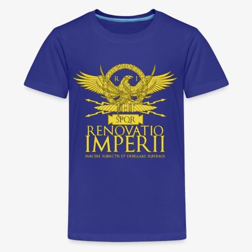 Emblema Renovatio Imperii - Maglietta Premium per ragazzi