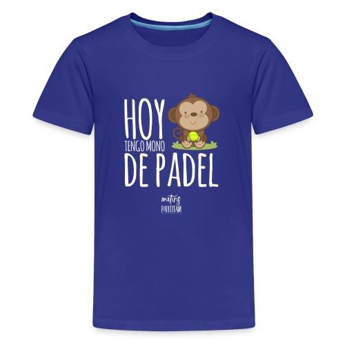 DFF2F8CD 9EA2 4F77 8F0B FC77E7475932 - Camiseta premium adolescente