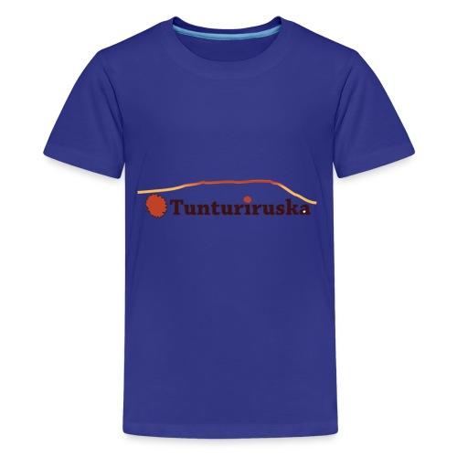 Tunturiruska - Teinien premium t-paita