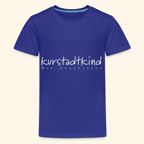 Die Kinder vom Bahnhof Oeynhausen. - Teenager Premium T-Shirt