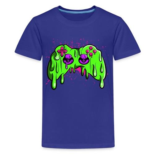 Controller geschmolzen - Teenager Premium T-Shirt