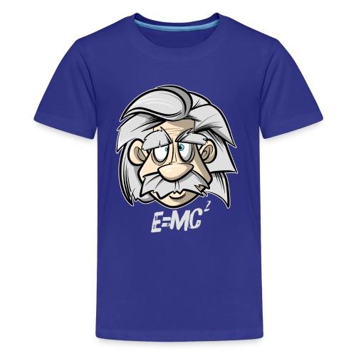 Albert Einstein E=MC2 - Teenager Premium T-Shirt
