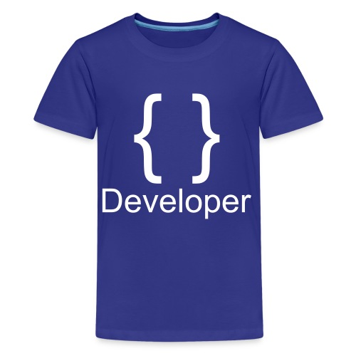 Developer - Teenager Premium T-Shirt
