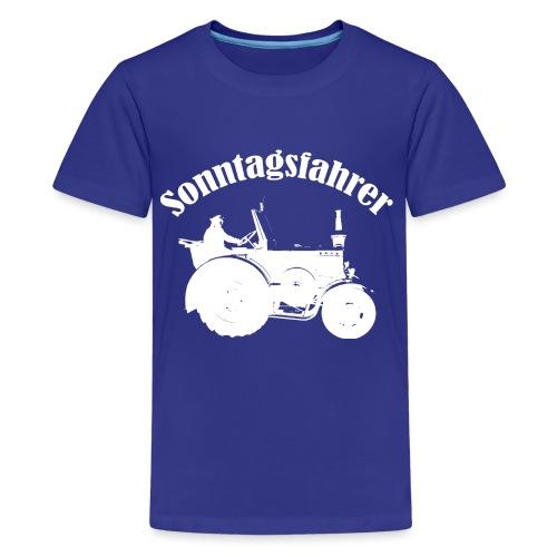 Sonntagsfahrer Landwirt - Teenager Premium T-Shirt