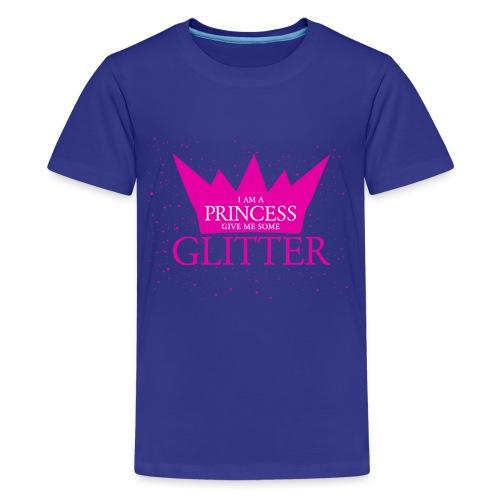 Glitzer für die Prinzessin - Teenager Premium T-Shirt