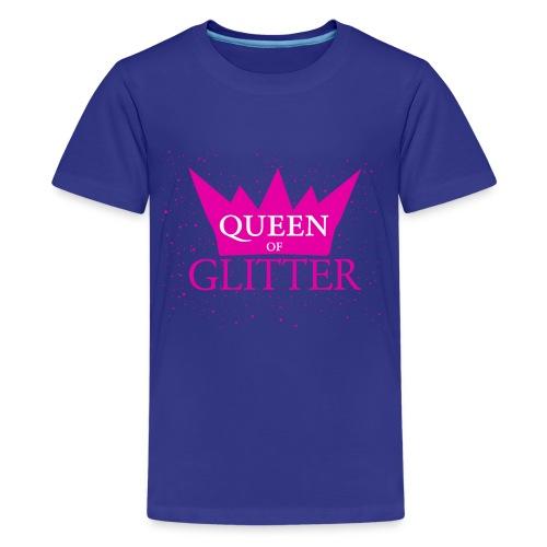 Königin des Glitzer - Teenager Premium T-Shirt