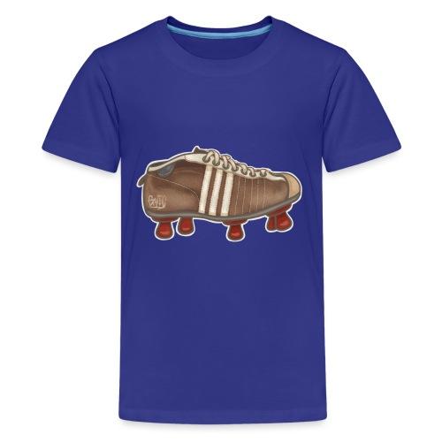 Vintage Fussbalschuhe / Soccer Shoes - Teenager Premium T-Shirt