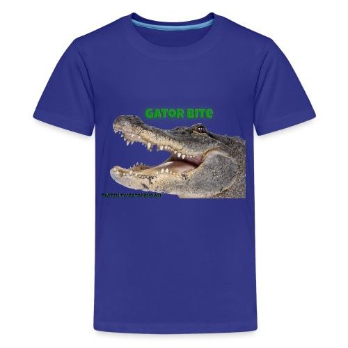 Gator Bite - Teenage Premium T-Shirt