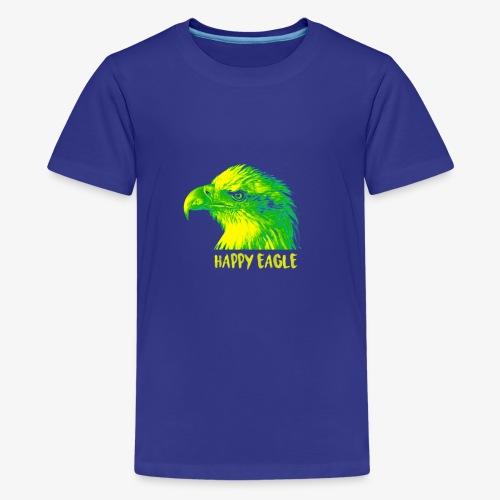 happy eagle - T-shirt Premium Ado